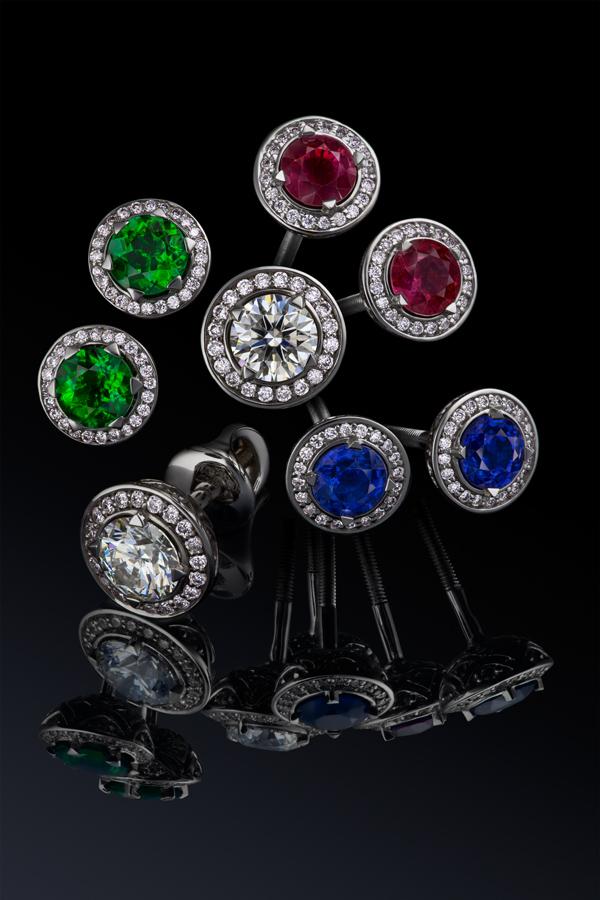 Сапфир, рубин, измруд, бриллиант Izmestiev Diamonds