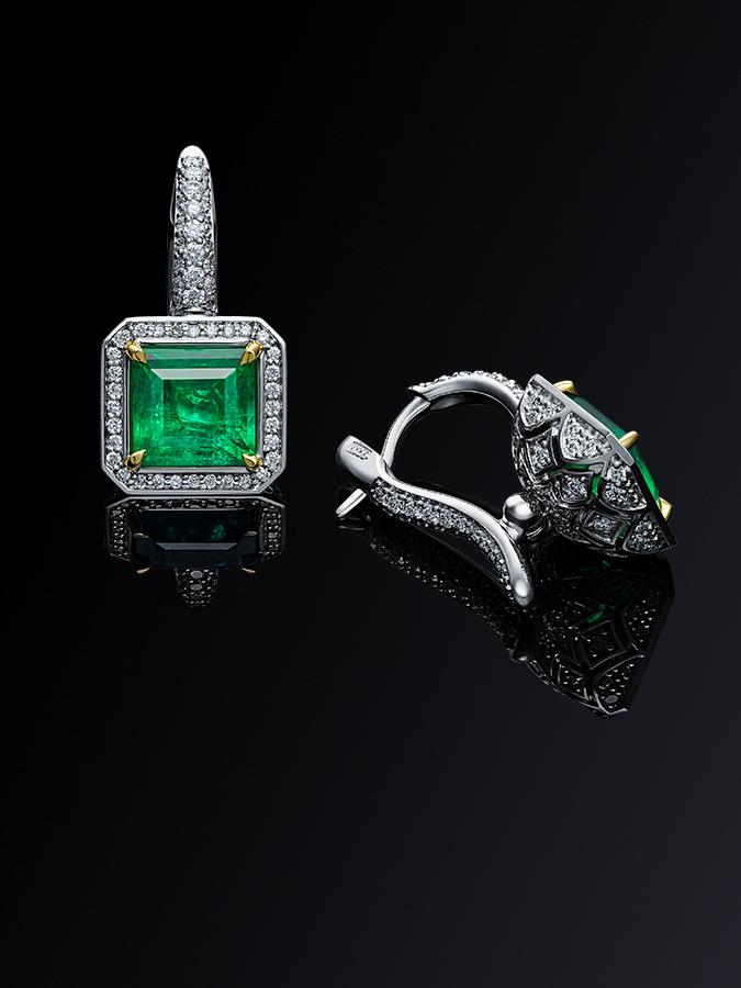 Изумруд Izmestiev Diamonds